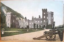 Irish Postcard GARRON TOWER Co. Antrim Coast Northern Ireland Lawrence Dublin