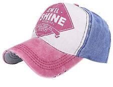 Men Women Vintage Star Snapback Baseball Ball Cap Outdoor Sports Hats Adjustable