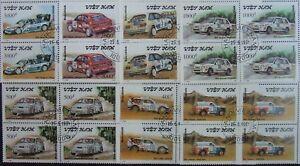 Vietnam 1991-Cars,4x7St.In blockMNH, VO 19
