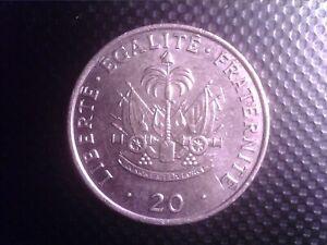 HAITI   20    CENTS   1991   OCT10