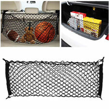 US Durable Auto Car Black Rear Cargo Trunk Boot Floor Net Elastic Mesh Storage