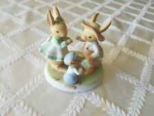 New listing 1979 Tiny Talk Designers Collection Playful Ways Dancing Rabbits & Mouse Fig.