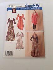 Simplicity 1623 Womens Dress Pattern Khaliah Ali Collection Plus Sizes 10 To 18