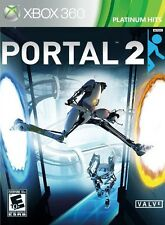PORTAL 2  (PLATINUM HITS)  (XBOX 360, 2011) (5048)       SHIPS NEXT BUSINESS DAY
