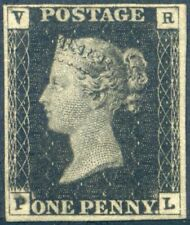 SGV1 1840 The *VR* Official Stamp (PL) Very Fine with Original Gum c£32.000.00
