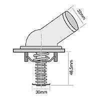 TRIDON Std Thermostat For Honda Integra Type R 09/01-10/04 2.0L K20A2