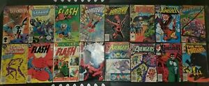 Mixed comic book lot (Sep-Oct 1974, DC and Marvel Fair Condition