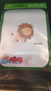 Little Green Men Removable Wall Decals - Leon The Lion              B2LHS