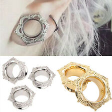 1X Unisex Women Golden Ear Cartilage Stud Bar Earring Piercing Jewelry Piercing