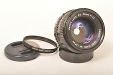 Canon 1,4 x 50mm FD Standard Objektiv lichtstark / Prime Lens
