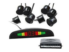 KIT 8 SENSORI LED WIRELESS SUONO FRESA NERI DI PARCHEGGIO CON MINI DISPLAY