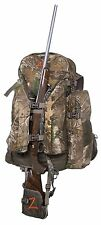 Hunting Realtree Camo Backpack Expandable Back Pack Bow Rifle Hiking Gun Archery