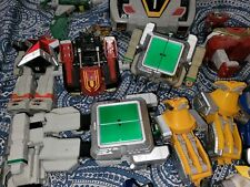 Vintage Power Rangers Zeo Lost Galaxy Megazord parts lot