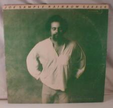 Joe Sample Record Album Vintage LP Rainbow Seeker Past Performance Stamp