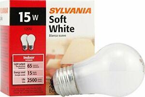 Sylvania 10015 - 15A15/W/RP 120V A15 Light Bulb