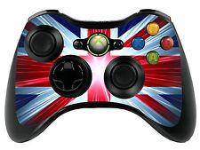Union Jack Xbox 360 Control Remoto controller/gamepad Skin / Cover / Vinilo Wrap xbr16