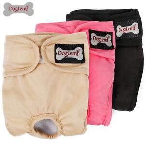 Female/Male Pet Dog Puppy Hygiene Diaper Pants Washable Reusable Nappy Pants