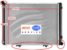 Radiator Mercedes Benz W201 190D 85-93 5 cyl 2.5L Turbo Diesel 8mk 376 712-311