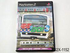 Densha de Go 3 Let's by Train Playstation 2 Japanese Import JP PS2 US Seller B