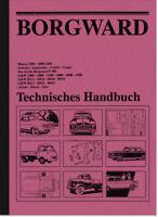 Borgward Reparaturanleitung Werkstatthandbuch t. Handbuch Hansa B 1500 2000 3000