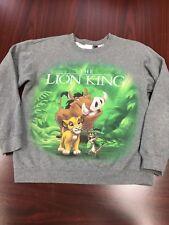 Disney's The Lion King men's Sweat Shirt size Small Crewneck Big Graphics