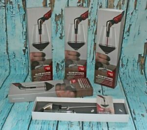 Vacu Vin Slow Wine Pourer Stainless Steel Bottle Pourer Boxed