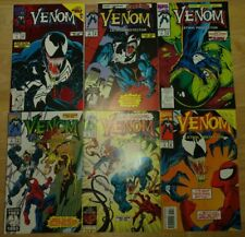 Venom, Lethal Protector, Complete LOT, 1-6, Spider-Man, Marvel Comics, 1993