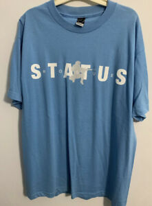 Rogue status shirt Men L New Blue