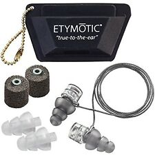Etymotic Research ER20XS Universal Fit High-Fidelity Earplugs in Polybag Pack...