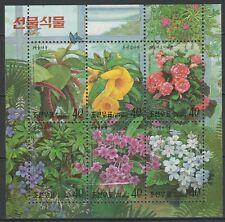 Korea 1999 Flowers MNH Block
