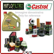 KIT TAGLIANDO PER APRILIA 125 SCARABEO NET I.E. 10 > 15 FILTRO OLIO 4LT CASTROL