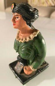Rare Antique RMS Amazon Ships Falmouth's Famous Figurehead Miniature Ornament