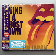 JAPAN ONLY SHM-CD WITH OBI &LYRICS INSERT! ROLLING STONES LIVING IN A GHOST TOWN