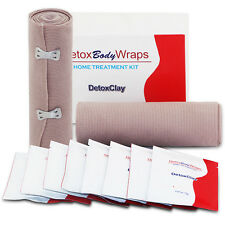 Heating Body Wraps Organic Detox Clay Slimming Kit Weight Loss Slim Fat Burners