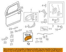 HONDA OEM 03-10 Element-Interior Inside Door Handle Right 72120SCVA01ZA