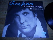 "TOM JONES ""LOVE ME TONIGHT / HIDE AND SEEK"" 1969 UK BIEM / GEMA DECCA RECORDS UK"