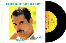 "FREDDIE MERCURY (QUEEN) - I WAS BORN TO LOVE YOU - 7"" 45 RECORD PIC SLV 1985"