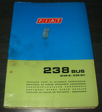 Spare Part Catalogue Body Fiat 238 BUS SPARE PARTS CATALOG Stand 1973