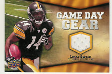 2009 UPPER DECK GAME DAY GEAR LIMAS SWEED JERSEY