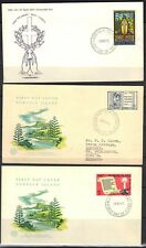 BRITISH COMMONWEALTH 1940-70'S COLLECTION OF 22 FDC'S