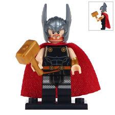 Thor Minifigure Marvel Super Heroes Figure For Custom Lego Minifigures