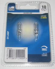 Set x2 Ampoule Halogene G4 10w 12v Clear LSC 2000 H