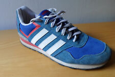 Adidas Runeo 10k Men Size 44 2/3 / US 10.5 Lifestyle Runner Sneakers Shoes Blue