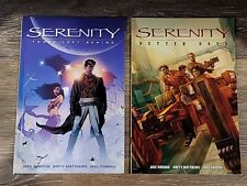 Serenity Those Left Behind + Better Days, 2 Graphic Novels (Pb) Firefly, Whedon