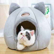 M/L/XL Warm Hunde Katzen Höhlennest Haustier Katzen Nest Haus Bett Katzenhöhle
