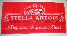 STELLA ARTOIS LAGER BAR TOWEL BEER CLOTH MANCAVE PUB CLUB BRAND NEW