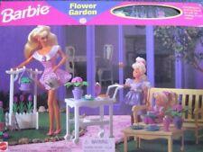 Barbie Flower Garden Playset - Folding Pretty House (1996 Arcotoys, Mattel)