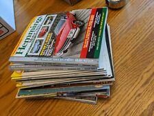 21 LOT VTG HOT ROD CAR MAGAZINES HEMMINGS JC WHITNEY PRICE GUIDE PARTS OLD CARS