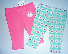 Next Girls' Floral Leggings Trousers & Shorts (0-24 Months)