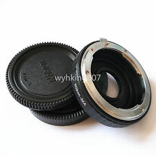 Nikon F Lens to Sony Alpha Minolta AF MA Glass Adapter Infinity focus a580 a350